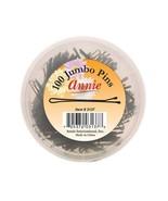 Annie #3137 Jumbo Hair Pins2 3/4'' 100 Count Black - $5.40
