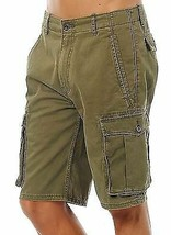 Levi's Men Premium Cotton Cargo Shorts Original Relaxed Fit Green 124630008 image 1