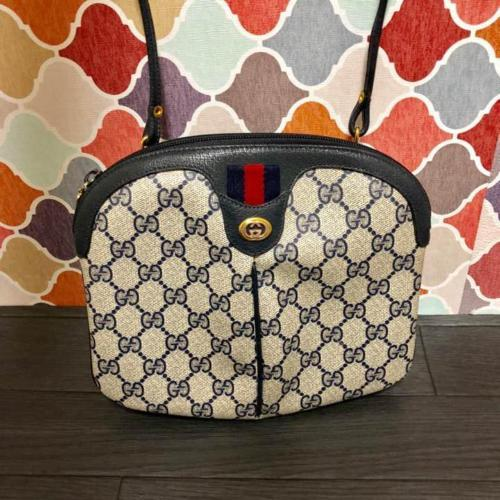 5bf149d7bbb4 12. 12. Previous. Auth Gucci Shoulder Bag Multi OLD Gucci Sherry line  Vintage ...