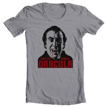 Taste the Blood of Dracula t-shirt Christopher Lee old horror film free shipping image 2