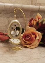 Antique Faberge Egg 24kt Gold Wedding Anniversary Gift For Couple Bridal Shower - $499.00