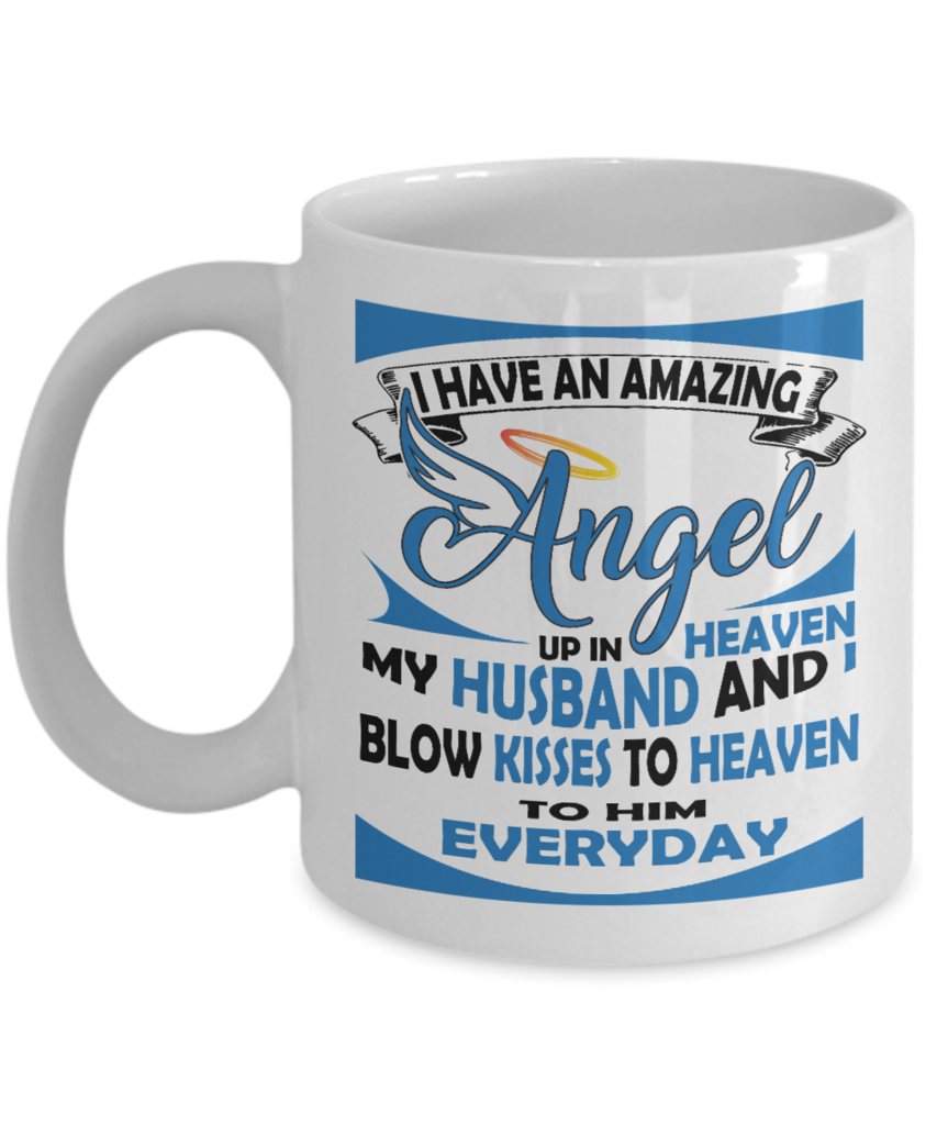 I Have An Amazing Angel   Coffee Related Gifts   Family Gift Ideas