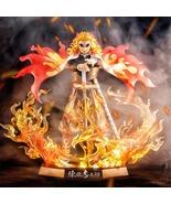 Demon Slayer Rengoku Kyoujurou Action Figures Toys GK Anime Kimetsu No Y... - $59.89