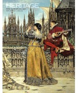 Heritage Fine European Art Catalog 8011 Lesrel Blanchard Durer Renoir Ma... - $21.95