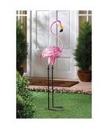 Pink Flamingo Lawn Statue Garden Decoration Tropical Decor Valentines Gi... - $39.10