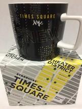 Starbucks Times Square New York City Coffee Mug Broadway Lights - $28.04