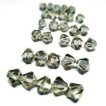 10mm BICONE CANTALOUPE SWAROVSKI® Crystal Beads #5301 - 5 BEADS - (#783) - $5.94
