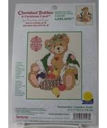 """Cherished Teddies Cross Stitch GARLAND A Christmas Carol 5 x 7"""" Hillman ... - $9.50"""