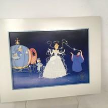 Walt Disney's Masterpiece CINDERELLA Exclusive Commemorative Lithograph ... - $11.40