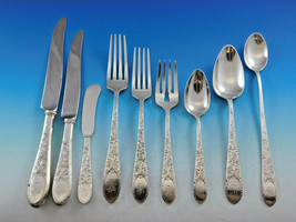 Elmwood by Gorham Sterling Silver Flatware Set Service Antique Rare 36 pcs - $3,250.00