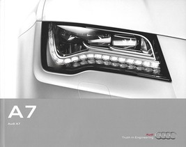 2013 Audi A7 sales brochure catalog US 13 3.0T - $8.00