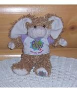 "Build-A-Bear Plush 7"" Tan & White Bunny Rabbit -Join The Fun Paw & T-Shi... - $5.29"
