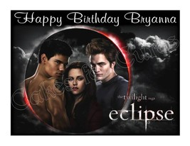 Twilight Eclipse edible cake topper frosting sheet party decoration - $8.98+