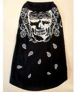 Bret Michaels Pets Rock Dog T Shirt size XL Poison Black Skull Bandana B... - $9.90