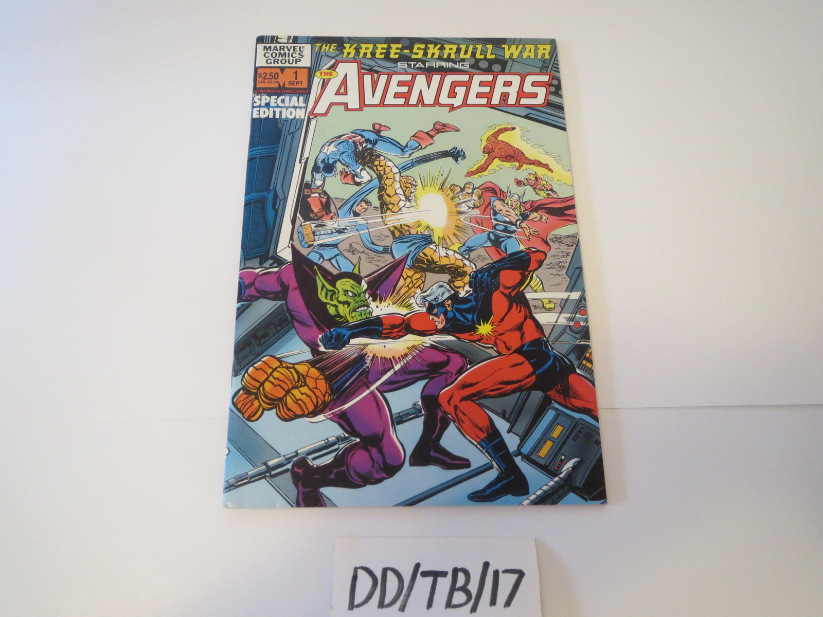 Marvel Avengers The Kree Skrull War Special Edition #1 1983 Fantastic Four
