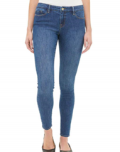 Tommy Hilfiger Womens Mid Rise Skinny Jeans , Bright Blue Wash, Size 4 - $18.69