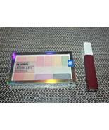 LOT/2 Maybelline The City Kits Urban Light Eye+Cheek Palette #150 +LIP C... - $11.11