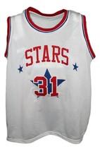 Utah Stars Aba Retro 1972 Basketball Jersey Sewn White Any Size image 1