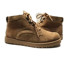 Ugg Bethany Chestnut Lace Up Sneakers Boot Us 12 / Eu 43 / Uk 10.5 - New - $92.57