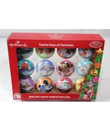 Hallmark Rudolph Red Nosed Reindeer Twelve Days of Christmas Ornament Se... - $24.74
