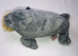 Ganz Webkinz Gray Walrus HM332 Stuffed Animal Plush Beanbag No Code SA7 - $17.81