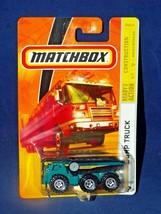Matchbox 2008-09 Construction Series #67 Dump Truck Green & Black - $4.00