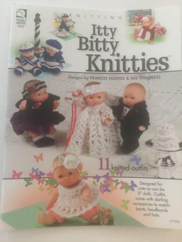 988906ca0c37 Knitting Pattern Book Itty Bitty Knitties ~ and 50 similar items