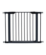 "MidWest 29"" High Walk-thru Steel Pet Gate, 29"" - 38"" Wide in Textured Gr... - $67.99"