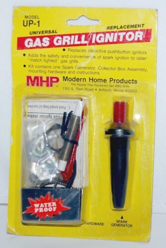 MHP UP1 Universal Replacement Gas Grill Ignitor with Hardware
