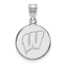 10kw LogoArt University of Wisconsin Medium Disc Pendant - $281.00