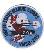 USMC VMSB-245 Marine Scout-Bomber Squadron Patch - $11.87