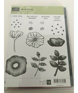 Stampin Up Oh So Eclectic Stamp Set & Eclectic Layers Thinlits Retired F... - $35.99