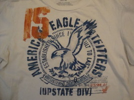 American Eagle Outfitters Upstate Division Long Sleeve White Shirt Size M/L - $15.63