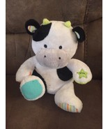CARTERS STUFFED PLUSH COW MUSICAL MUSIC SINGS MOTION ELECTRONIC OLD MACD... - $32.68