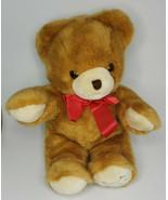 "1991 Harrods Christmas 17"" Large Teddy Bear Stuffed Plush Toy Nice (U46) - £28.79 GBP"