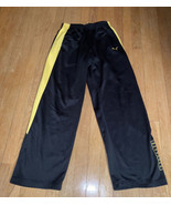Boys Puma Sweatpants Black Yellow XL - $14.42