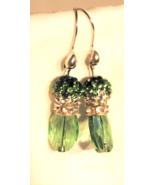 Swarovski Peridot Crystal Dangle Earrings - $30.00