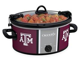 Crock-pot SCCPNCAA600-TAM Texas A&M 6 quart Cook and Carry Slow Cookers,... - $42.72