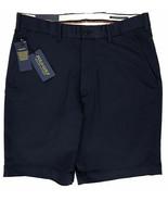POLO GOLF RALPH LAUREN Mens Performance Stretch Navy Blue Shorts Size 40 - $44.54