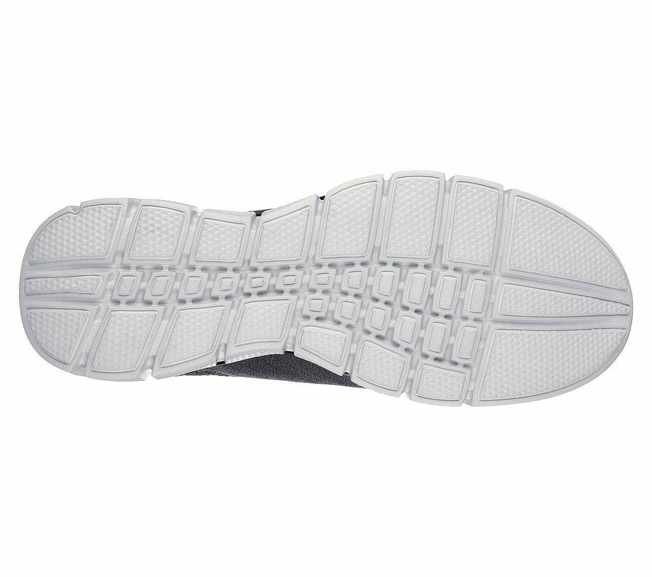 Skechers Charcoal Extra Wide Fit Shoes Men Memory Foam Sporty Trail Hiking 51530