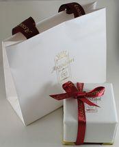 18K WHITE GOLD WEDDING BAND UNOAERRE SQUARE COMFORT RING, DIAMOND MADE IN ITALY image 4