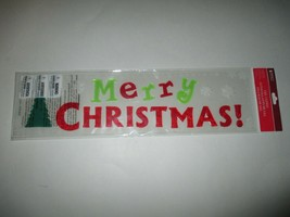 New Impact Innovations Merry Christmas Gel Clings - $2.00