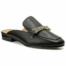 Tory Burch Amelia Backless Loafer Mule Flats in Black Leather, Sz 6, NIB! - $173.24