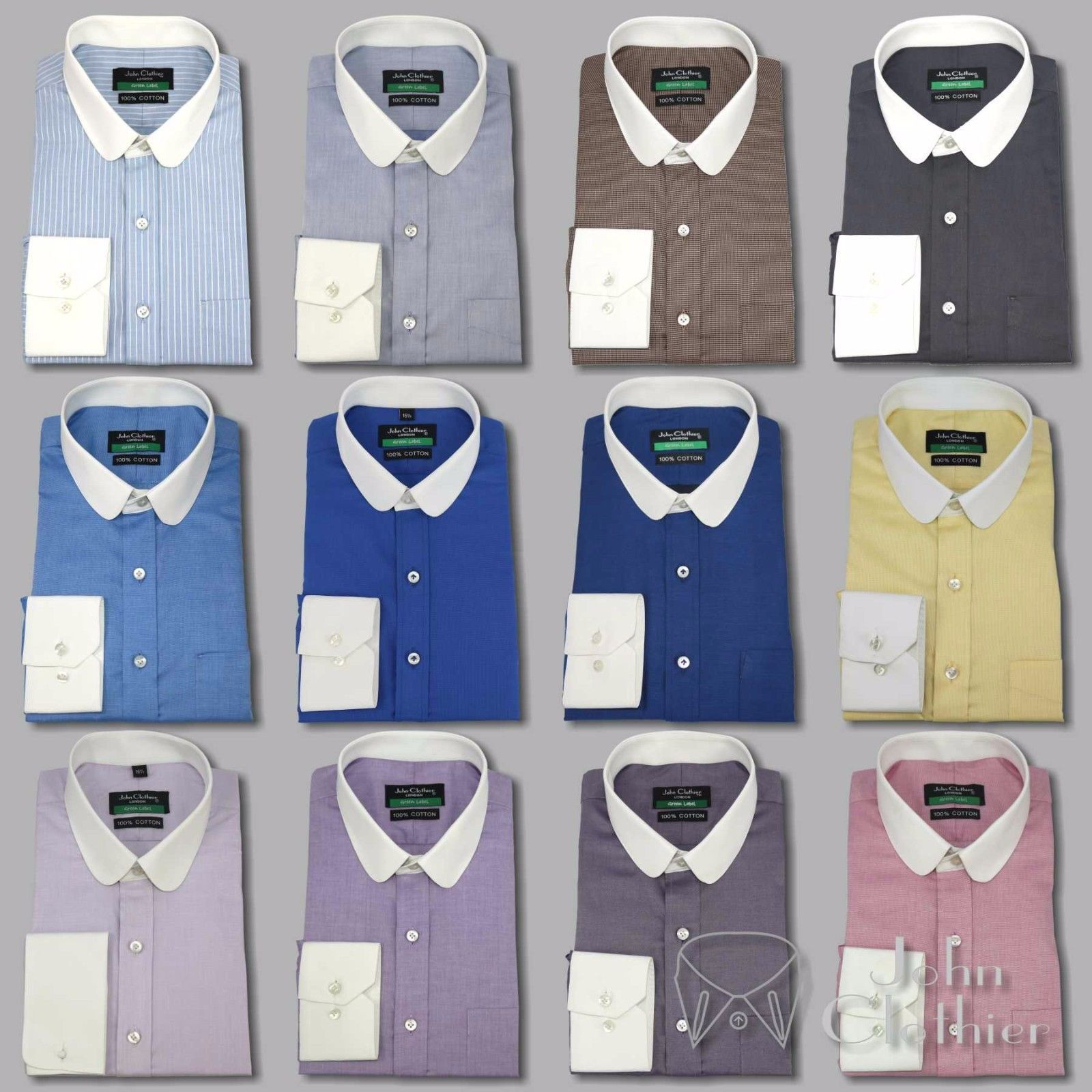 wholesale dealer big sale various styles Mens Penny collar Banker shirt Formal Gents and 43 similar items