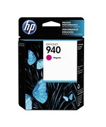 HP 940 C4904AN Magenta Original Ink Cartridge, Yield 900 - $40.54