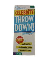 Celebrity Throw down! The Ultimate Game Of Elimination! - $23.74