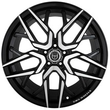 4 G22 Nigma 20x10 inch Black Rims fits FORD MUSTANG BOSS 302 2012 - 2014 - $699.99