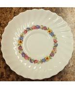 "Royal Doulton England Evesham H.4821 Dainty Floral Swirl 8"" Salad Plate - $17.99"