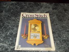 Cross Stitch & Country Crafts Magazine Jan/Feb 1988 Victorian Portrait - $0.99