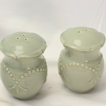 JCPenney Chris Madden Adalina Green Salt and Pepper Shakers - $29.39